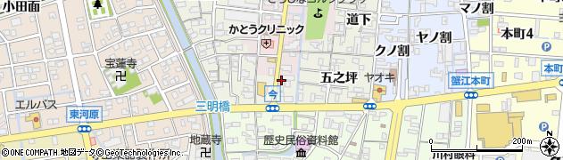 蘭子周辺の地図