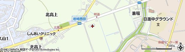 愛知県日進市岩崎町(畔道)周辺の地図
