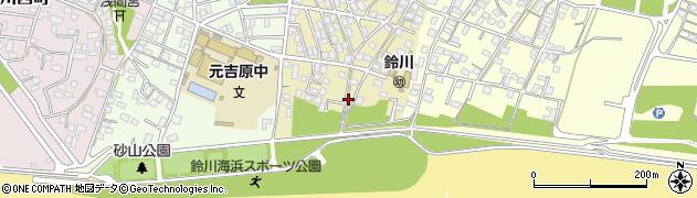 静岡県富士市鈴川東町周辺の地図