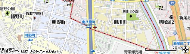 ステーキの神戸屋本店周辺の地図