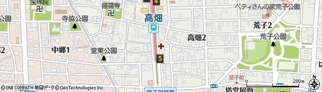 那古屋・茶房周辺の地図