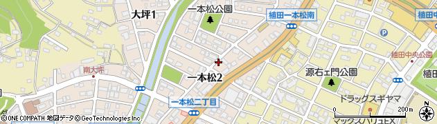 愛知県名古屋市天白区一本松周辺の地図