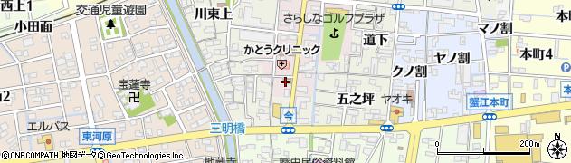 三六周辺の地図