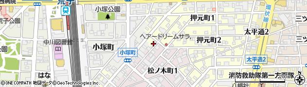 有限会社伊勢勝周辺の地図
