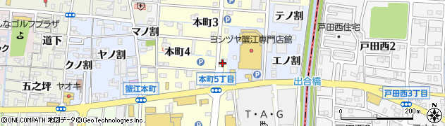 COUCOU周辺の地図