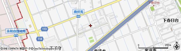 愛知県津島市鹿伏兎町周辺の地図