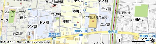 まんざら周辺の地図