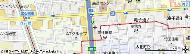 愛知県名古屋市昭和区東郊通周辺の地図
