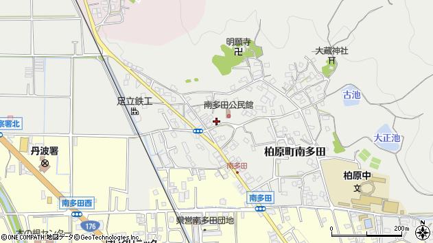 〒669-3301 兵庫県丹波市柏原町南多田の地図