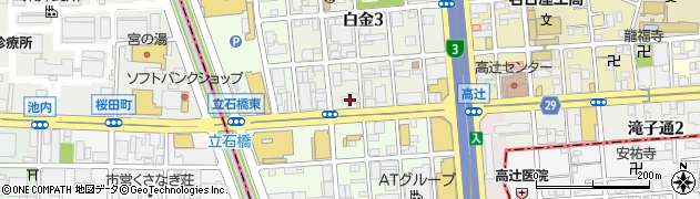 木曽路本社周辺の地図
