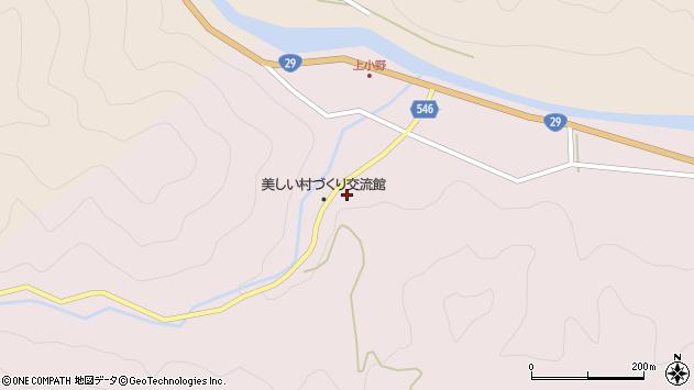 〒671-4243 兵庫県宍粟市波賀町小野の地図