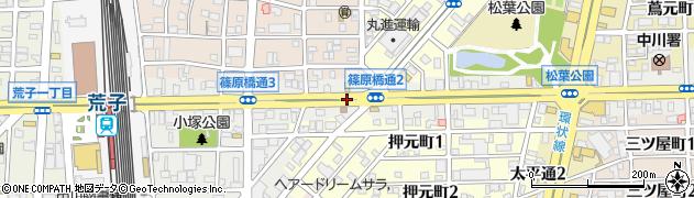愛知県名古屋市中川区篠原橋通周辺の地図