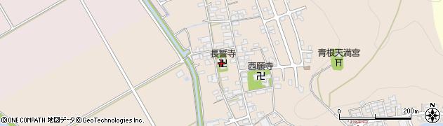 長誓寺周辺の地図