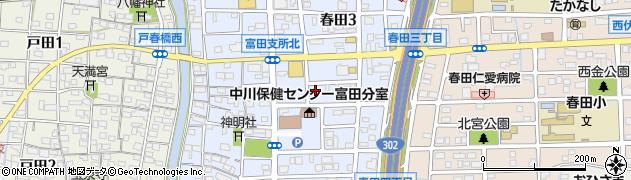 喫茶まりも周辺の地図