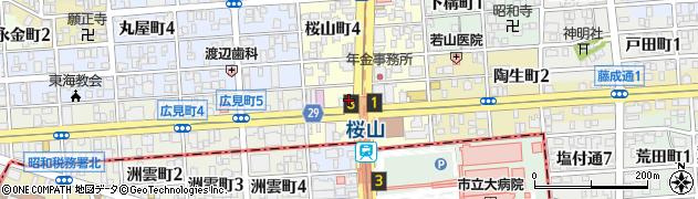 米屋の手づくりおにぎり多司桜山店周辺の地図