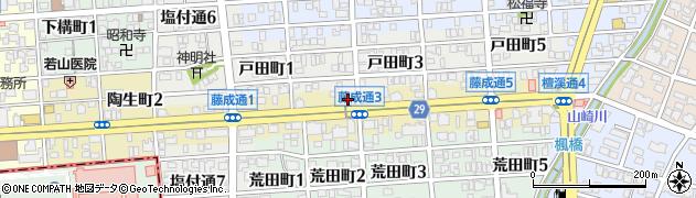 かまくら周辺の地図