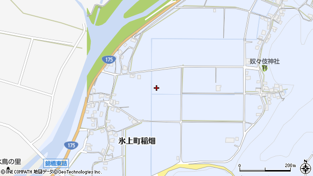 〒669-3581 兵庫県丹波市氷上町稲畑の地図