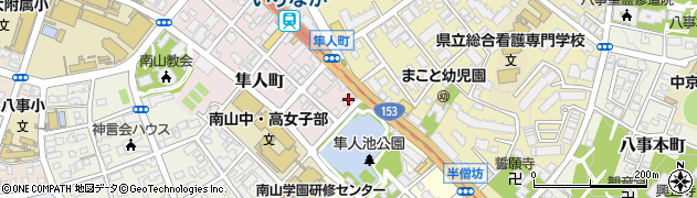 肉匠坂井 杁中店周辺の地図