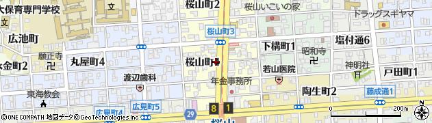レッスン周辺の地図