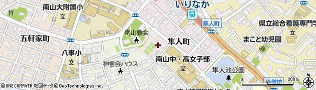 ランチア周辺の地図