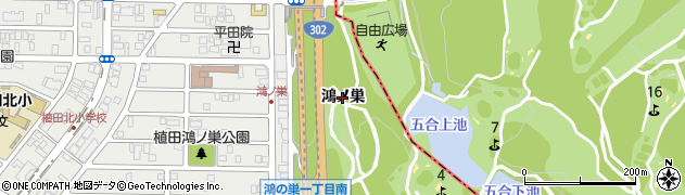 愛知県名古屋市天白区天白町大字植田(鴻ノ巣)周辺の地図
