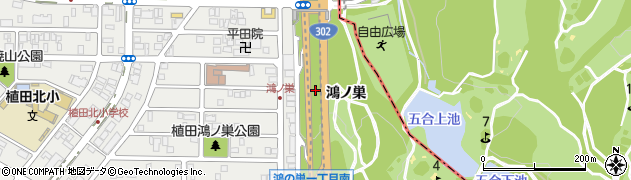 愛知県名古屋市天白区天白町大字植田周辺の地図