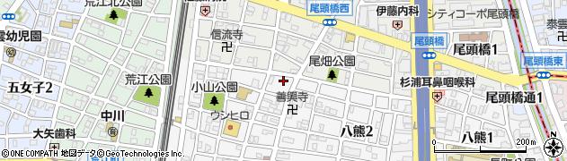 泰久館周辺の地図