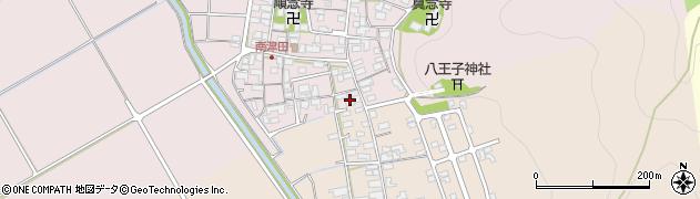 正覚寺周辺の地図