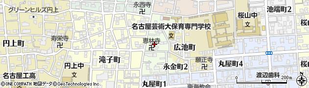 本家かまどや 滝子店周辺の地図