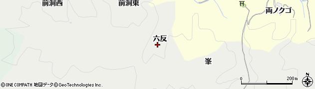 愛知県豊田市中金町(六反)周辺の地図