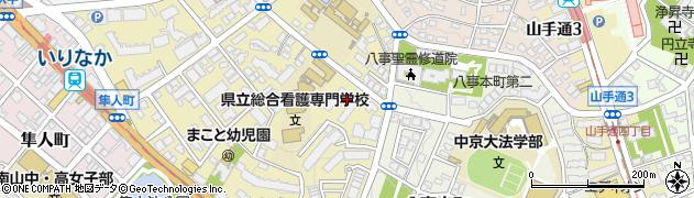 株式会社魚国総本社 東京海上杁中寮食堂周辺の地図