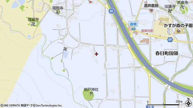 〒669-4273 兵庫県丹波市春日町国領の地図