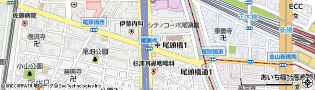 カフェK&A周辺の地図