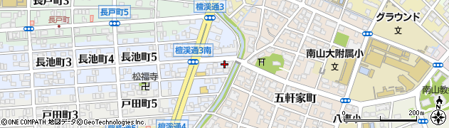 永里ノ木周辺の地図