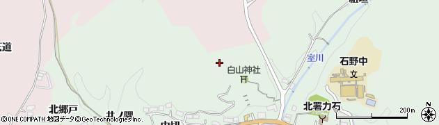 愛知県豊田市力石町周辺の地図