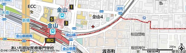 柚柚‐yuyu‐金山店周辺の地図