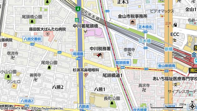 〒454-0012 愛知県名古屋市中川区尾頭橋の地図