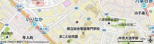 杁中ガーデン周辺の地図