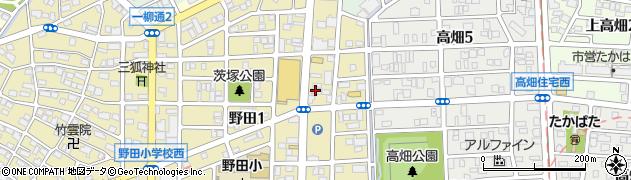 ほっかほっか亭 野田一丁目店周辺の地図