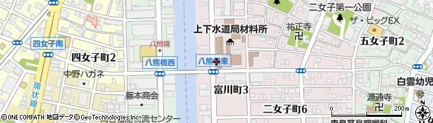 愛知県名古屋市中川区富川町周辺の地図