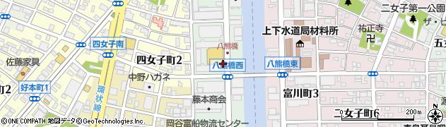 愛知県名古屋市中川区富船町周辺の地図
