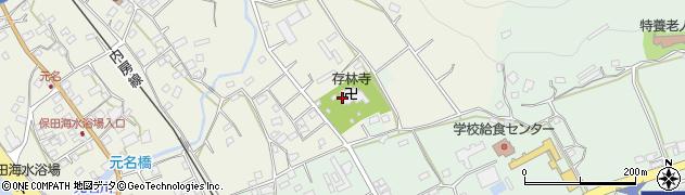 存林寺周辺の地図