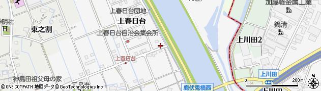 愛知県津島市鹿伏兎町(二之割)周辺の地図