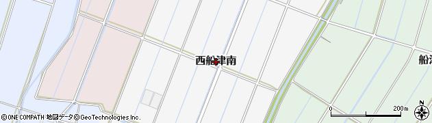 静岡県富士市西船津南周辺の地図