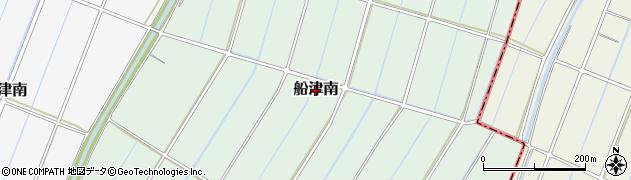 静岡県富士市船津南周辺の地図