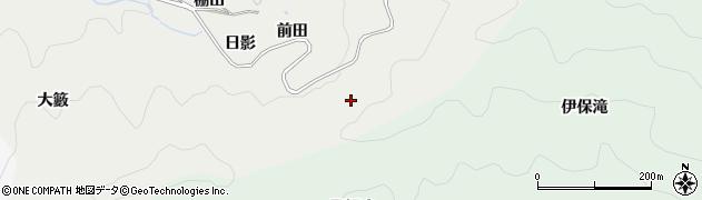 愛知県豊田市竜岡町(前田)周辺の地図
