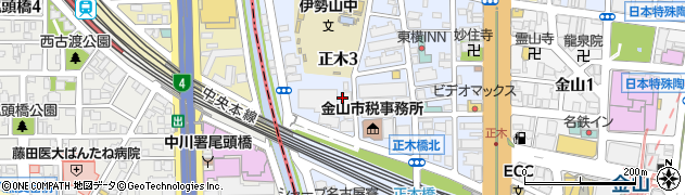 K&K事務所周辺の地図