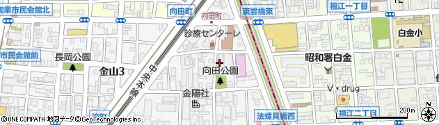 あかり周辺の地図
