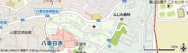 愛知県名古屋市昭和区妙見町周辺の地図