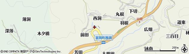 愛知県豊田市富岡町(前田)周辺の地図